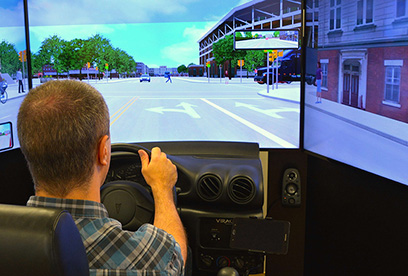 Virtual Driving Lab Car & Small Truck Simulator – Charley's Taxi